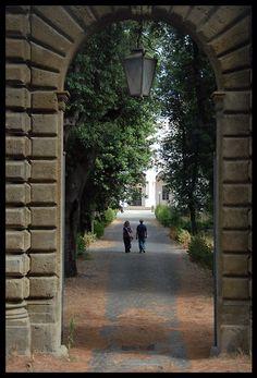 Falconieri Villa is de most ancient villas of Frascati, in Rome, Lazio_ Italy