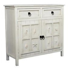 Gallerie Decor Coastal 2 Drawer Cabinet. Shipping is Free
