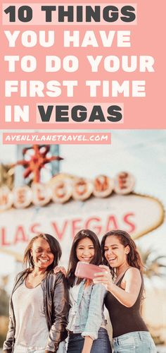 Top 10 Must do's in Vegas for First Timer's! Whether you are taking selfie's in front of the welcome to Las Vegas sign or exploring the Las Vegas Strip there are so many top attractions in Las Vegas! See the best things to do in Las Vegas this summer by visiting https://www.avenlylanetravel.com/top-10-must-do-in-vegas-for-first-timers-las-vegas-tips/ #vegas #lasvegas #travel #usatravel #vacation #summertravel #nevada #USA #avenylanetravel