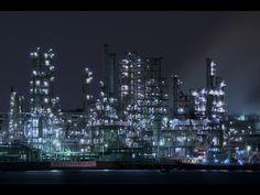 根岸工場夜景