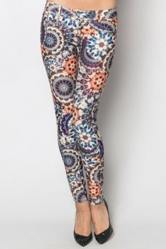 Emblem Ethnic Print Treggings Ethnic Print, Suits You, Different Styles, Shop Now, Trousers, Take That, Leggings, Jeans