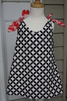 Easy to sew, reversible.  Like two dresses in one.  Long lasting from dress to shirt with leggings.  Love!