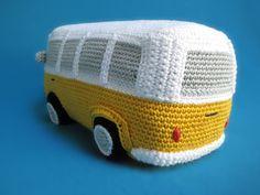 VW (Inspired) Bus amigurumi pattern by Millionbells