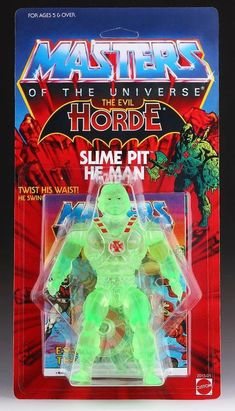 "Mattel ""Masters of the Universe"" Slime Pit He-Man figure"