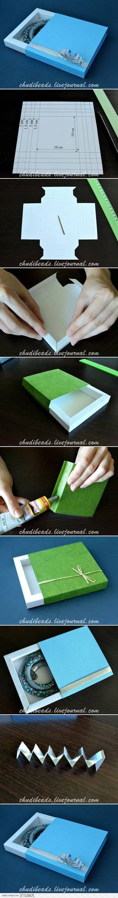 DIY Square Gift Box DIY Projects | UsefulDIY.com na Stylowi.pl