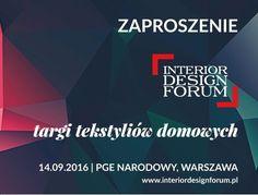 Interior Design Forum- Targi tekstyliów domowych