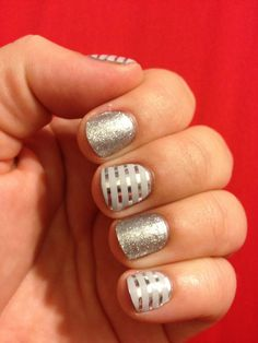 Gorgeous Nails! And way easy to do with Jamberry Nails! www.kaylahensley.jamberrynails.net