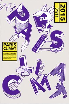 La Cop 21 vu par le studio In the Pool | http://blog.shanegraphique.com/pubin-pool-paris-climat/