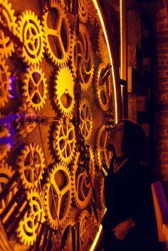 Amazing new steampunk pub with kinetic sculptures - Enigma Café in Cluj-Napoca, Iuliu Maniu12, Romania