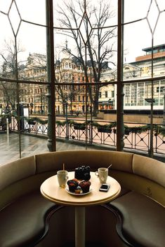 Paris for coffee.