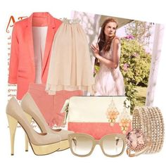 Sweet colors and lovely shoes