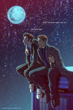 Doctor Who - Blue moon by maXKennedy on @DeviantArt