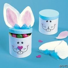 Make this fun Bunny Craft Box Craft Kit- Easter craft ideas for kids. Spend quality time with your children making these fun Easter crafts. Bunny Crafts, Easter Crafts For Kids, Cute Crafts, Crafts To Do, Diy For Kids, Kids Fun, Easter Ideas, Craft Box, Craft Kits