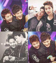 exo, chen and xiumin