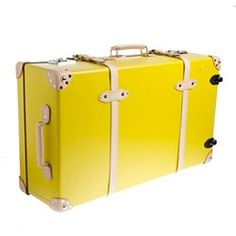Love the color.  You'll never lose your luggage with this bright yellow!