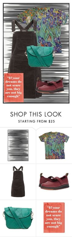 """""""Scary"""" by missmygreenhair ❤ liked on Polyvore featuring Art Addiction, Dorothy Perkins, Dr. Martens, Robert Zur and Oliver Gal Artist Co."""