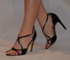 eb09d87f120 Rupert Sanderson Strappy Black High Heel Sandals UK4.5 EU37.5 - UK5 EU38