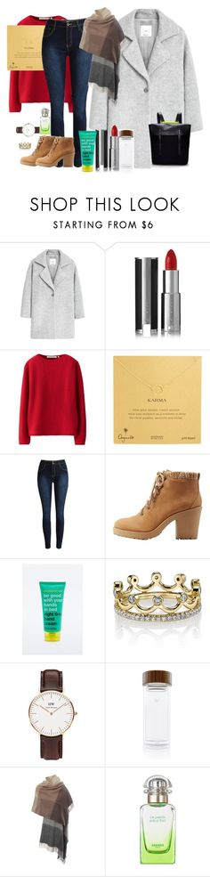 """"""""""" by luludedid on Polyvore featuring MANGO, Givenchy, Uniqlo, Dogeared, Soda, Anatomicals, Erica Courtney, Daniel Wellington, Aquaovo and Paul Smith"""