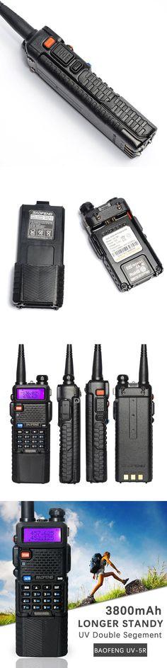 Baofeng UV-5R walkie-talkie 3800mAh battery version  Dual Band Radio  UV-5R Two Way Radio portable Walkie Talkie