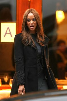 Stunning Hollywood Tyra Banks ... Stylish sex icon... She first became ...