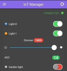 IoT Manager – esp8266with detailed instructions for mqtt