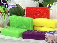 Santa Receita | Mini curso de sabonetes: sabonete barra de frutas - 13 d...