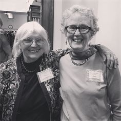 So grateful to have these two fabulous ladies around for constant support snd friendship! Nancy and Joan, during this past Saturday's reception for The History of the Beverly Farms Library. Nancy will be giving another lecture sometime in November, so stay tuned! #100yearsatthefarms #beverlyfarms #thefriends #amazingwomen #library #librariesofinstagram #history
