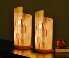 Set of Onyx Lamps Table,Desk,Office Lamp Quartz Natural Vintage Stone Alabaster, mood light, accent lamp,salt, indoor/outdoor, rustic lamp