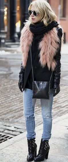 INSPIRATION | FUR AND SHEARLING #inspiration