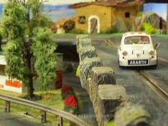 Fiat Abarth (Altaya) in my Slot Car Track #fiat #abarth #altaya #italiancar…