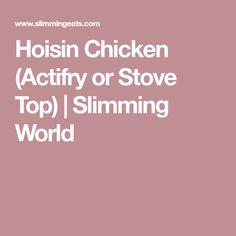 Hoisin Chicken (Actifry or Stove Top) | Slimming World