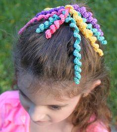 Cynthia Banessa | Ten Crochet Hair Accessories | http://cynthiabanessa.com