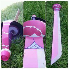 Steven Universe Rose Quartz Sword by CandicatCosplay on Etsy
