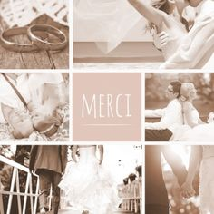 carte de remerciements toute en douceur pour remercier ses proches avec amour enveloppes offertes - Modele Carte Remerciement Mariage
