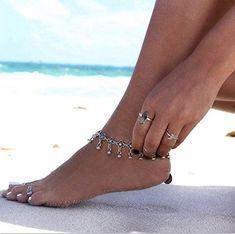 925 Sterling Silver Rhodium-plated Polished CZ /& Sand Dollar Ankle Bracelet Anklet 9 w//1 Extender