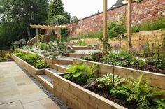homify / J B Landscapes LTD: moderner Garten von J B Landscapes LTD