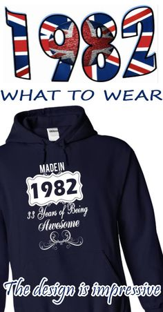 Made in 1982 Years of Being Awesome