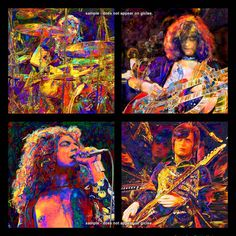 LED+ZEPPELIN+++Large+Rock+and+Roll++Art+20+x+20+by+EisnerArt,+$32.00