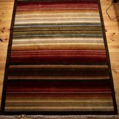 Tapis Tibétains fait au Népal - Laine et soie entièrement fait à la main 230 cm/170 cm. Épaisseur : environ 7 mm