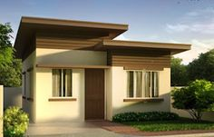 Free estimate of small bungalow house - bahay ofw for cheap house design ph Simple Bungalow House Designs, Bungalow Haus Design, Small Bungalow, Modern Bungalow House, Simple House Design, Bungalow House Plans, House Design Photos, Minimalist House Design, Porch House Plans