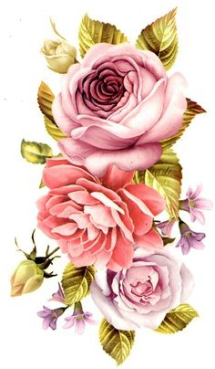 Large Temporary Tattoo: Roses | Available in the 50mm Photography Shop $14.99