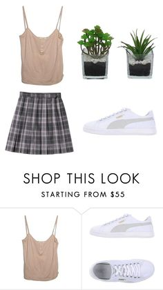 """""""outfit"""" by sweetswagger ❤ liked on Polyvore featuring Puma and Threshold"""
