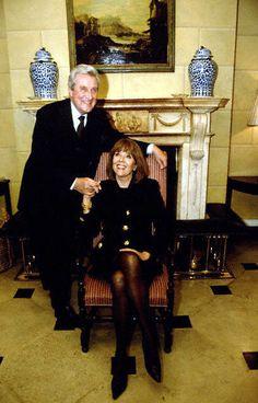 Patrick Macnee and Diana Rigg