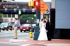Newark wedding street scene