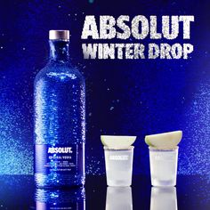 Get the party started with an Absolut Winter Drop. Get the shot recipe here!