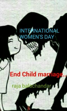 End Child marriage...