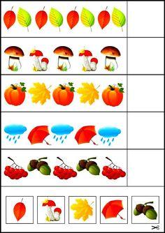 Fall Preschool Activities, Preschool Centers, Kindergarten Math Worksheets, Preschool Education, Preschool Lessons, Toddler Activities, Learning Activities, Kids Learning, Dyslexia Activities