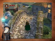 Everybody loves LEGO and Lord of the Rings, so put them together and you've got a good game (in theory). LEGO The Lord of the Rings has been out on other Ipod Touch, Ipad, Pissed Off, Middle Earth, Lord Of The Rings, Lotr, Best Games, The Hobbit, Beautiful World