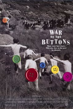 War of the Buttons 11x17 Movie Poster (1994)