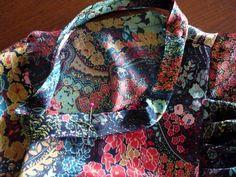 pin along the neckline
